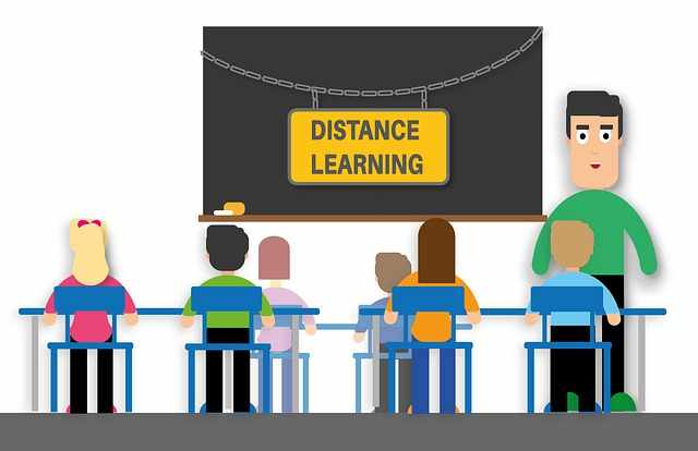 дистанционно обучение